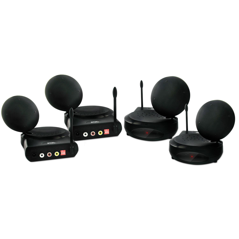 Nyrius NY-GS3200 5.8GHz 6 Ch Wireless Audio/Video Sender ...
