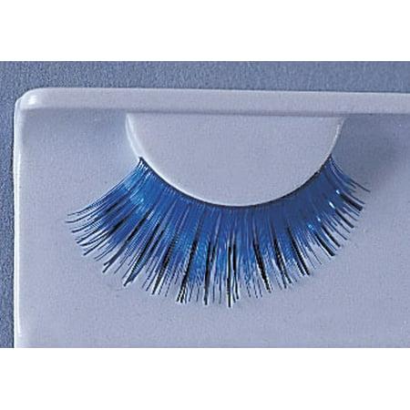 Eyelashes Blue With Black (Blue Eyelashes)