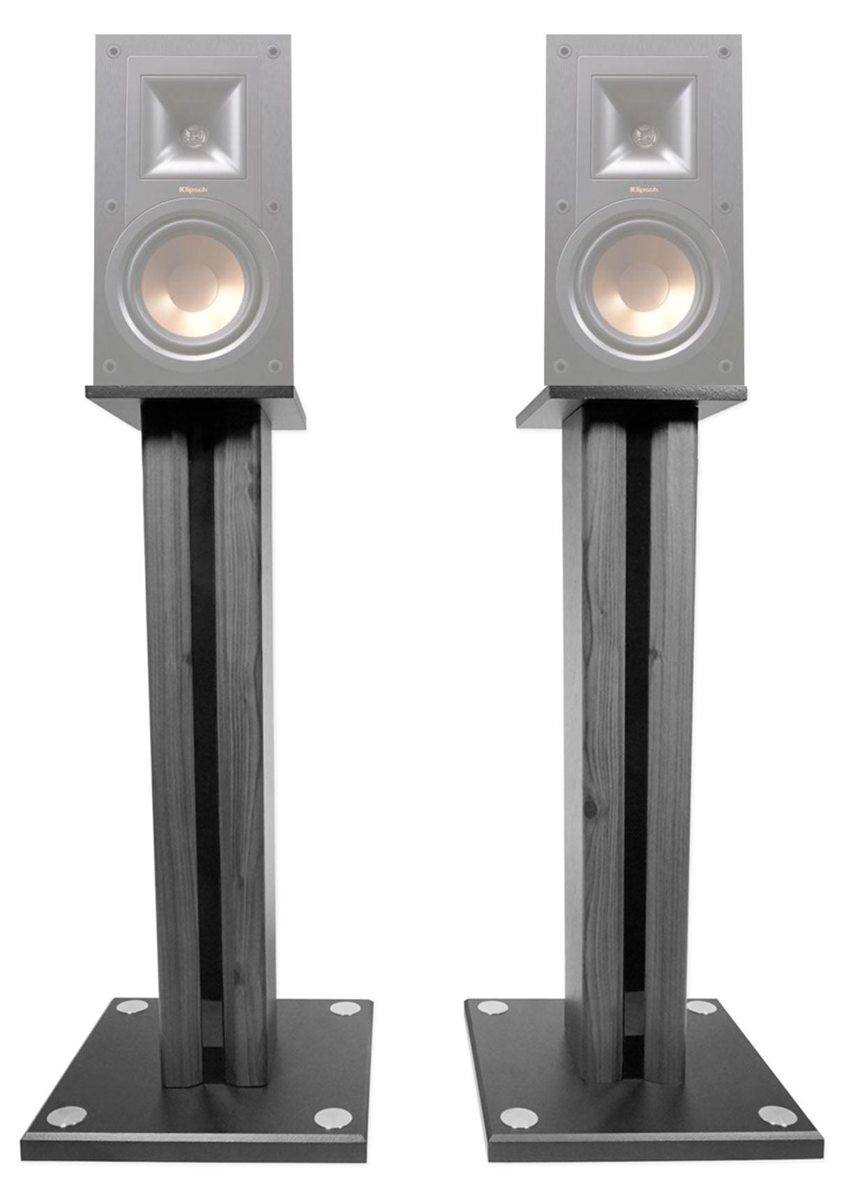 "Pair 26"" Bookshelf Speaker Stands For Klipsch R-15PM Bookshelf Speakers by Technical Pro"