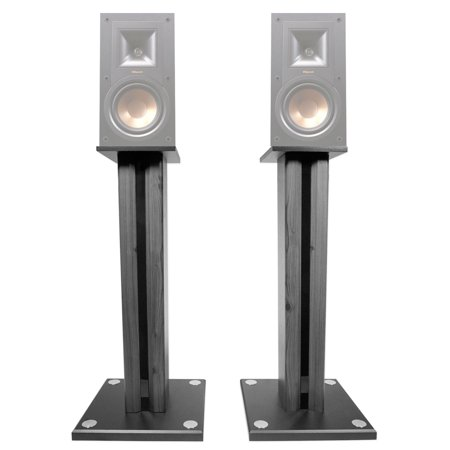 Pair 26 Bookshelf Speaker Stands For Klipsch R 15PM Speakers