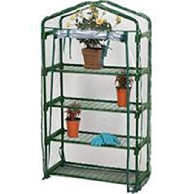 Bond Mfg P-Bloom 4 Tier Greenhouse- Green 49 X 27 X12 63516
