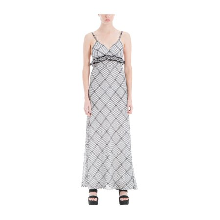 top style complete in specifications sale retailer Max Studio London Womens Ruffled Maxi Dress owblkdhc S