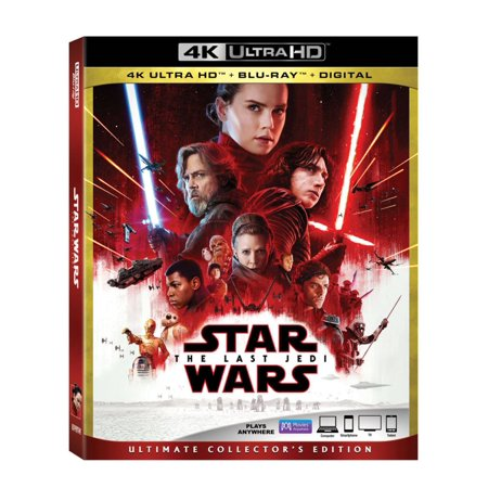 Star Wars: Episode VIII: The Last Jedi (4K Ultra HD + Blu-ray + Digital) for $<!---->