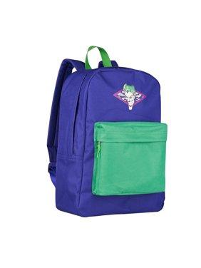 Product Image Joker DC Comics Men s Distressed Screen Print Front Zipper  Pocket Backpack Bag 8b4eb0c8ea8f2