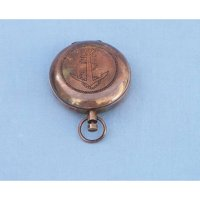 Handcrafted Nautical Decor Decorative Anchor Scout's Push Button Compass