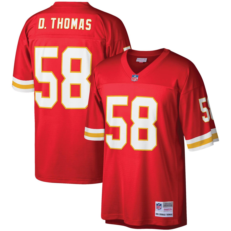 Derrick Thomas Kansas City Chiefs Mitchell & Ness Legacy Replica Jersey - Red - Walmart.com