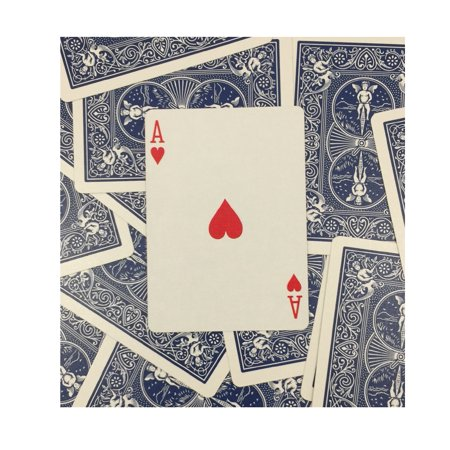 Rock Ridge One Way Forcing Deck for Magic Tricks, Blue Bicycle Ace of