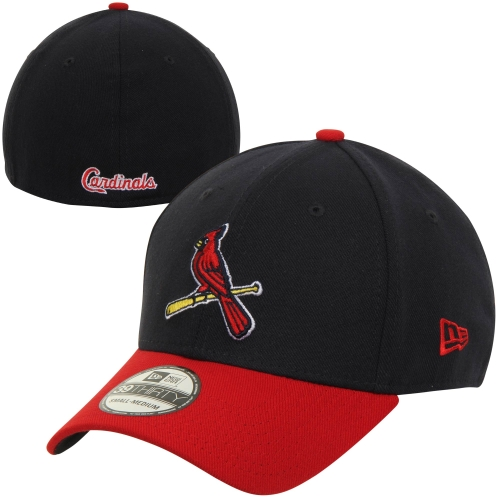 St. Louis Cardinals New Era MLB Team Classic Alternate 39THIRTY Flex Hat - Navy/Red