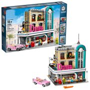 """Happyline"" Expert Downtown Diner 10260 Building Kit, Model Set and Assembly Toy for Kids and Adults (2480 Pieces)"