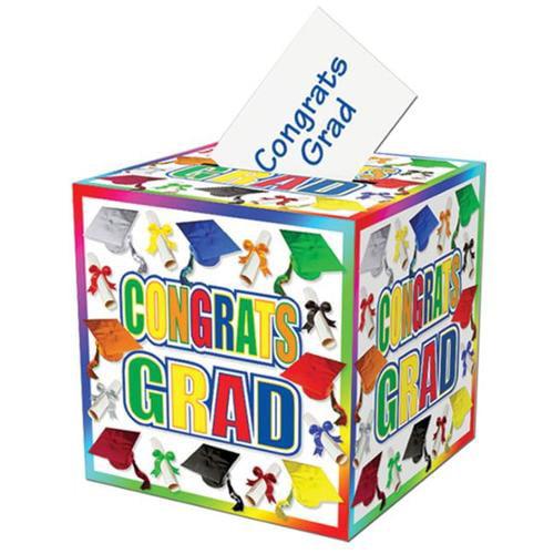 Bulk Buys Graduation Card Memory Box -  Case of 12