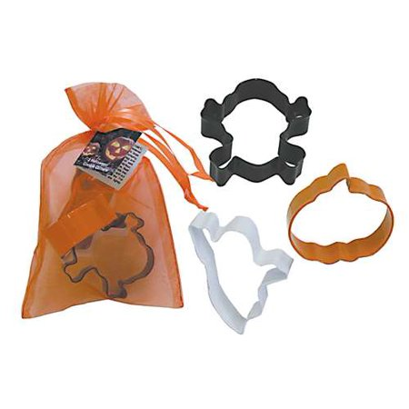 R&M Halloween 3 Piece Colorful Cookie Cutter Set in - Halloween Pumpkin Cookies