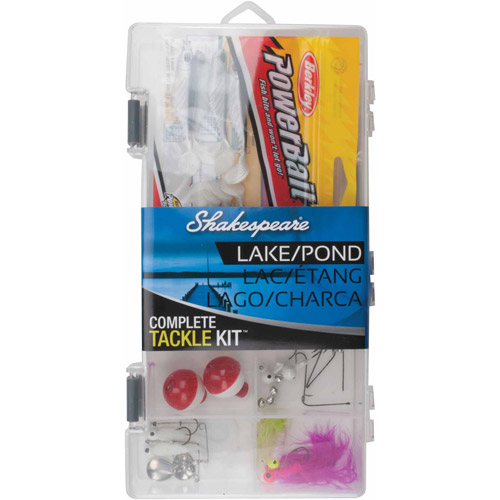 Shakespeare Complete Lake/Pond Tackle Box Kit