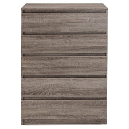 Laguna Modern 5 Drawer Chest (Modern Chest Drawers)