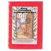 Dollhouse Kitty Cucumber W/Santa Readable Book