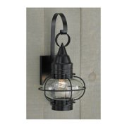 """Norwell Lighting 1513 Classic Onion Single Light 16"""" Tall Outdoor Wall Sconce wi"""