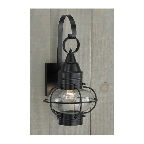 "Norwell Lighting 1513 Classic Onion Single Light 16"" Tall Outdoor Wall Sconce wi"