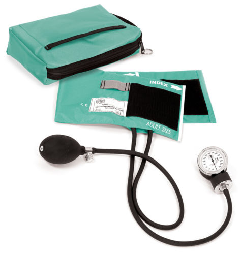Prestige Premium Aneroid Sphygmomanometer Adult Size Cuff with Carry Case, 882 - AQS - Aqua Sea