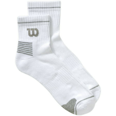 6 Pack Men's Performance Quarter Top Sock (Tipped Quarter Sock)