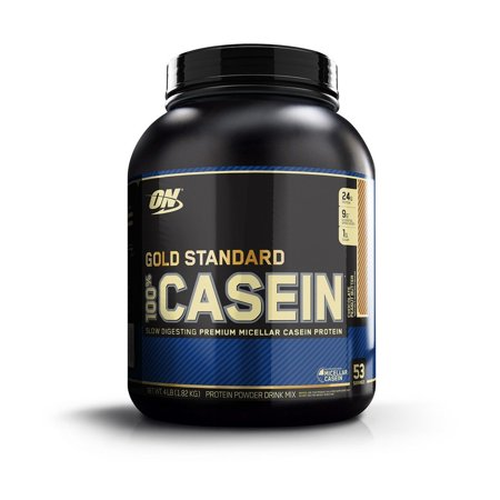 Optimum Nutrition Gold Standard 100% Casein Protein Powder, Chocolate Peanut Butter, 24g Protein, 4 (Best No Bake Chocolate Peanut Butter Oatmeal Cookies)