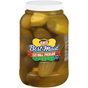 Best Maid Dill Pickles 1 gal. Plastic Jar