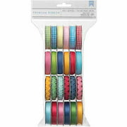 American Crafts Mayberry Value Pack Premium Ribbon Spools, 24pk