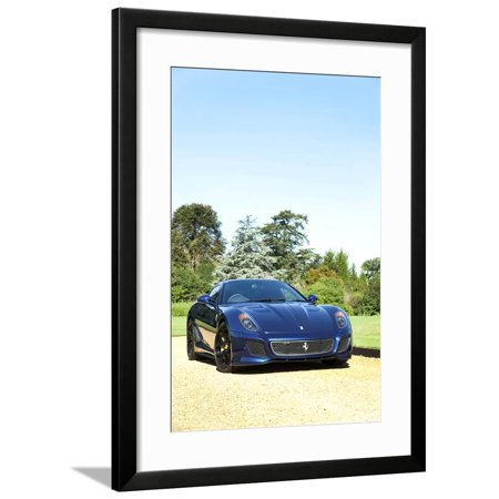 2010 Ferrari 599 GTO Framed Print Wall Art
