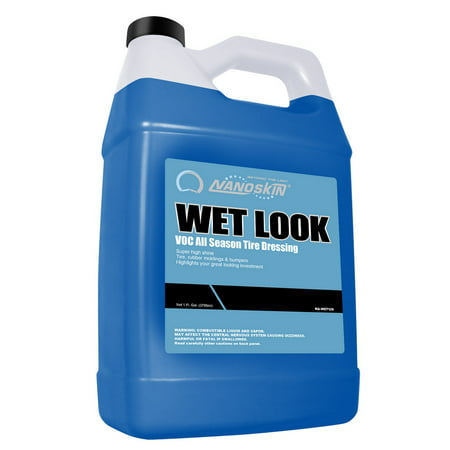 Nanoskin WET LOOK VOC Blue Tire Dressing - 1 Gallon