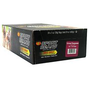 Jelly Belly Sport Beans Extreme Nutritional Bars, Pomegranate, 1 oz Bags, 24 Count