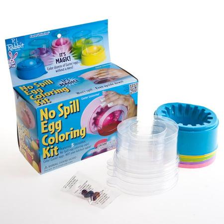 No Spill Egg Coloring Kit - Walmart.com