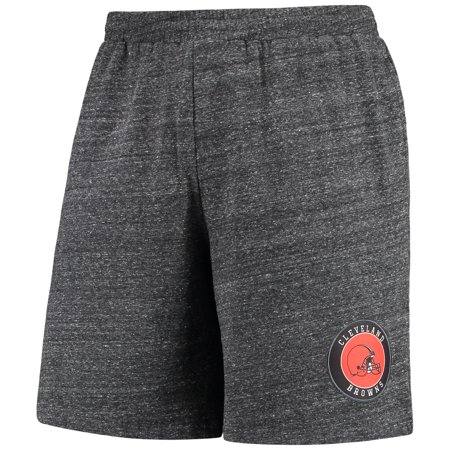 Cleveland Browns Concepts Sport Pitch Knit Shorts - Charcoal