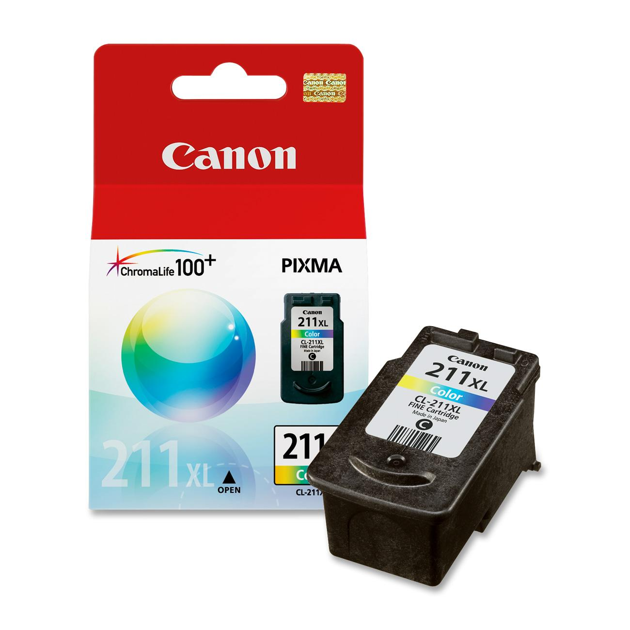Canon CL-211XL Original Ink Cartridge, 1 Each (Quantity)