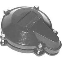 Simmons 758 Heavy Duty Waterlight Well Cap, For Use With 6 in x 6-1/4 in ID Casing, 1 in Conduit, Cast Iron