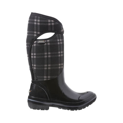 Bogs Boots Womens Plimsoll Plaid Tall Max-Wix Waterproof 71785 by Bogs