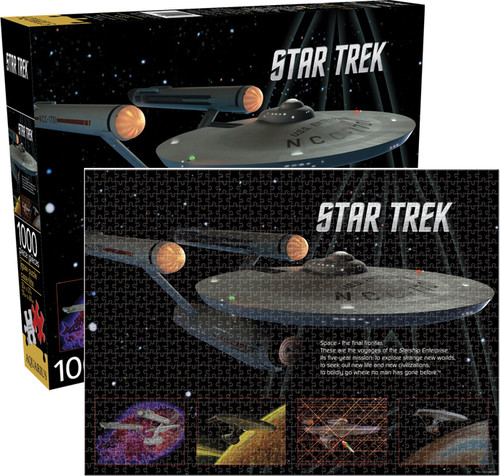 Star Trek- Enterprise 1000 PC Jigsaw Puzzle