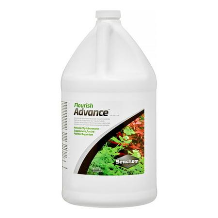 Aquarium Supplement - Seachem Flourish Advance Planted Aquarium Supplement, 135.2 Oz