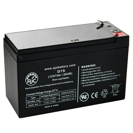 APC Smart-UPS 1000VA LCD 120V US SMT1000US 12V 7Ah UPS Battery - This is an AJC Brand Replacement