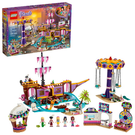 LEGO Friends Heartlake City Amusement Park with Toy Rollercoaster Building Set with Mini Dolls 41375