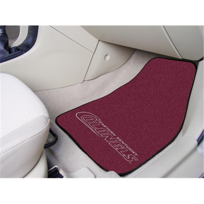FANMATS 5228 Eastern Kentucky 2-piece Carpeted Cat Mats 18 in. x 27 in.