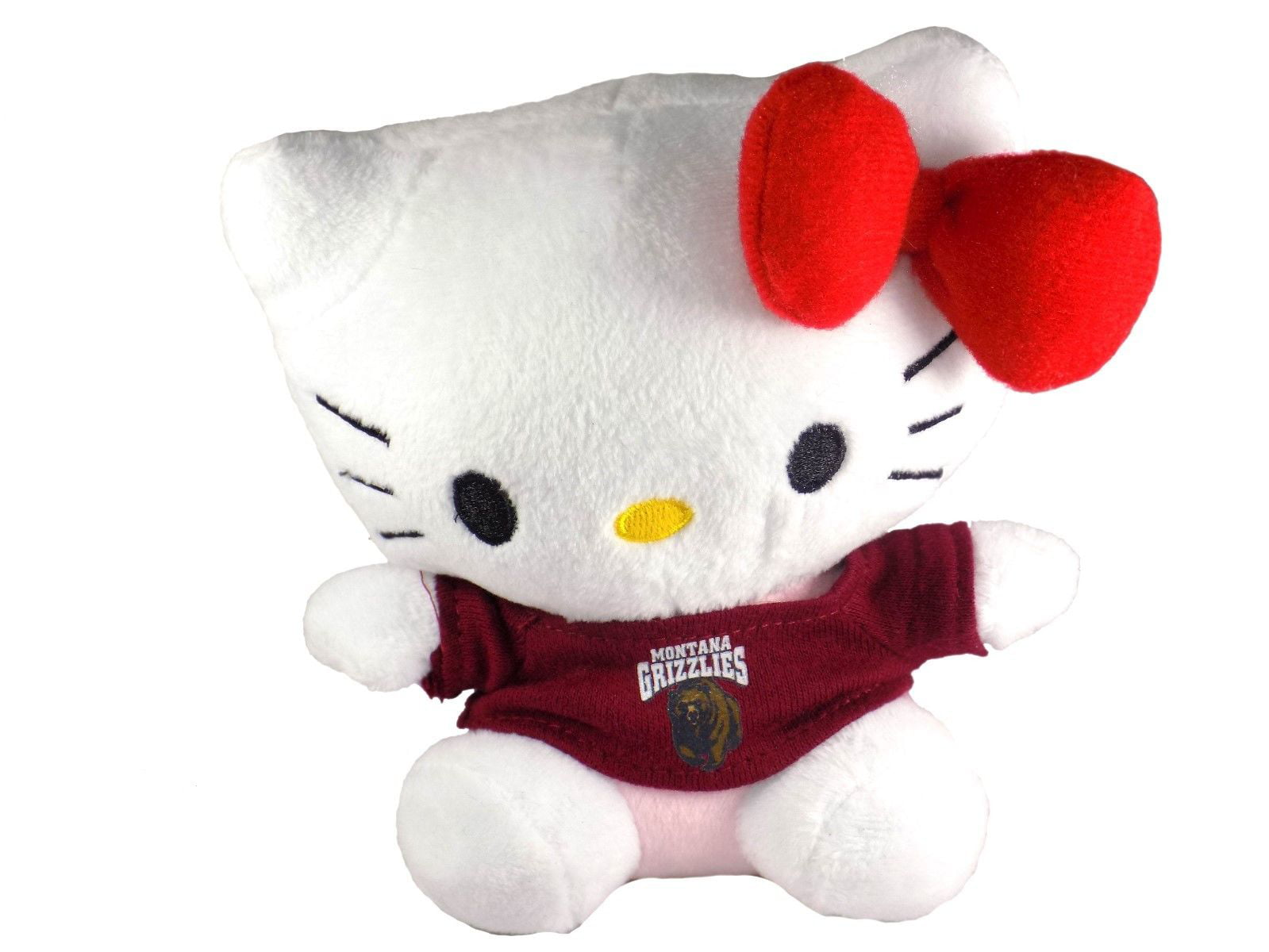 Hello Kitty Goes to College Montana Grizzlies Plush Toy by