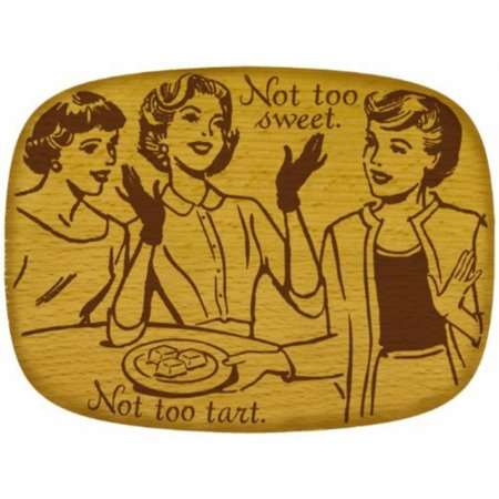 Talisman Designs Get Real Pop Art Beechwood Cheese Board, Sweet Design by Talisman Designs