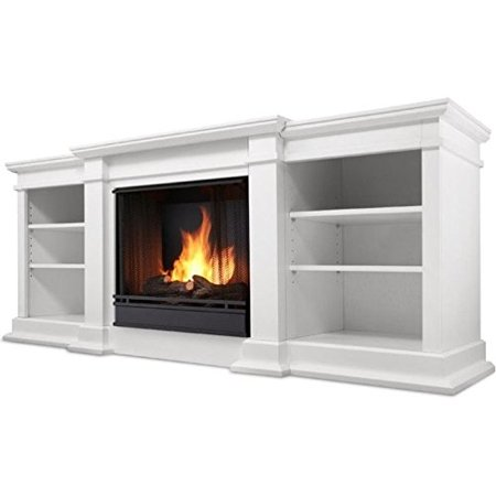 Real Real Flame Ventless Gel Fireplace White Product Photo