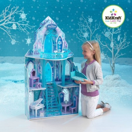 Kidkraft Disney Frozen Princess Elsa S Ice Castle Dollhouse
