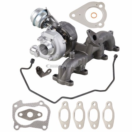 For VW Beetle Golf Jetta TDI Turbo Kit w/ Turbocharger Gaskets Oil Line Hose Kit Vw Golf