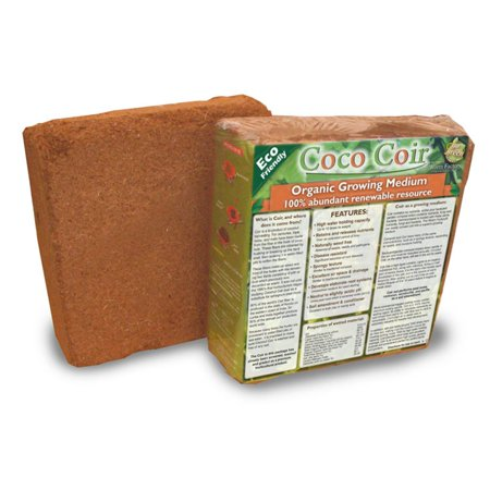 Natures Footprint Coconut Coir Brick (Coconut Husk Brick)