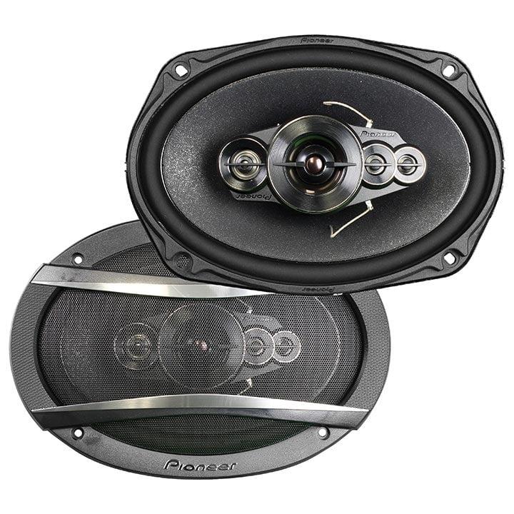 Component Black Speakers Car Audio 5-way 6x9-in 650 Watt Max Speaker Car Audio
