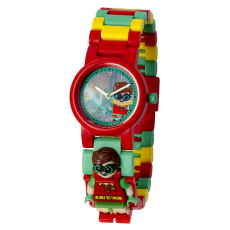 THE LEGO® BATMAN MOVIE Robin™ Minifigure Link Watch