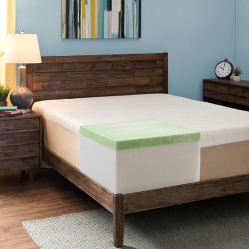 Comfort Dreams  Select-a-Firmness 14-inch California King-size Gel Memory Foam Mattress