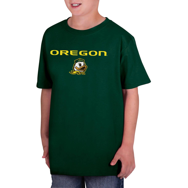 NCAA Oregon Ducks Boys Classic Cotton T-Shirt