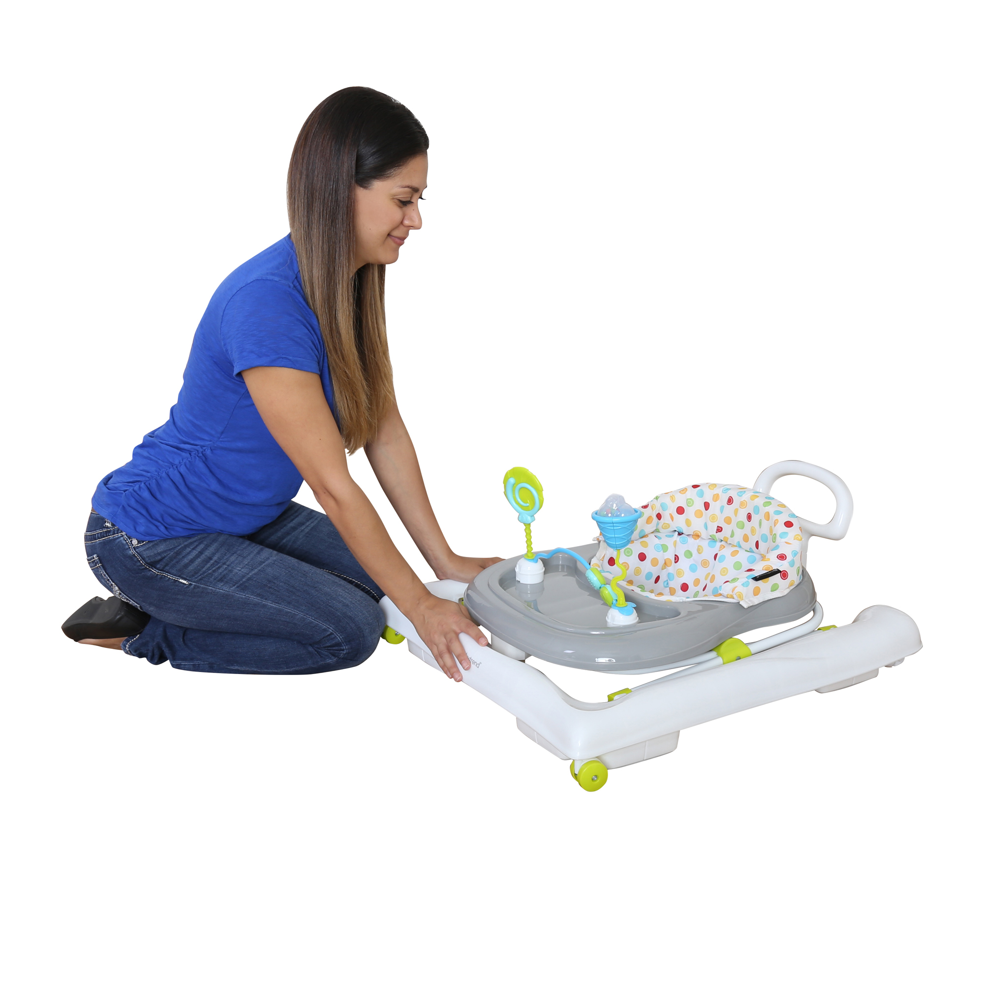 8b1ed2f1f Baby Trend 3.0 Activity Walker- Sprinkles - Walmart.com