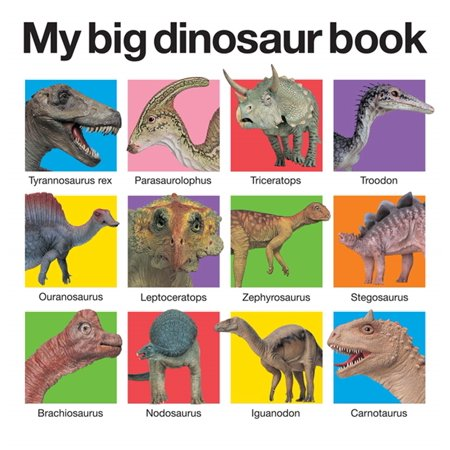 My Big Dinosaur Book (Board Book)](Dinosaurs Tulsa)